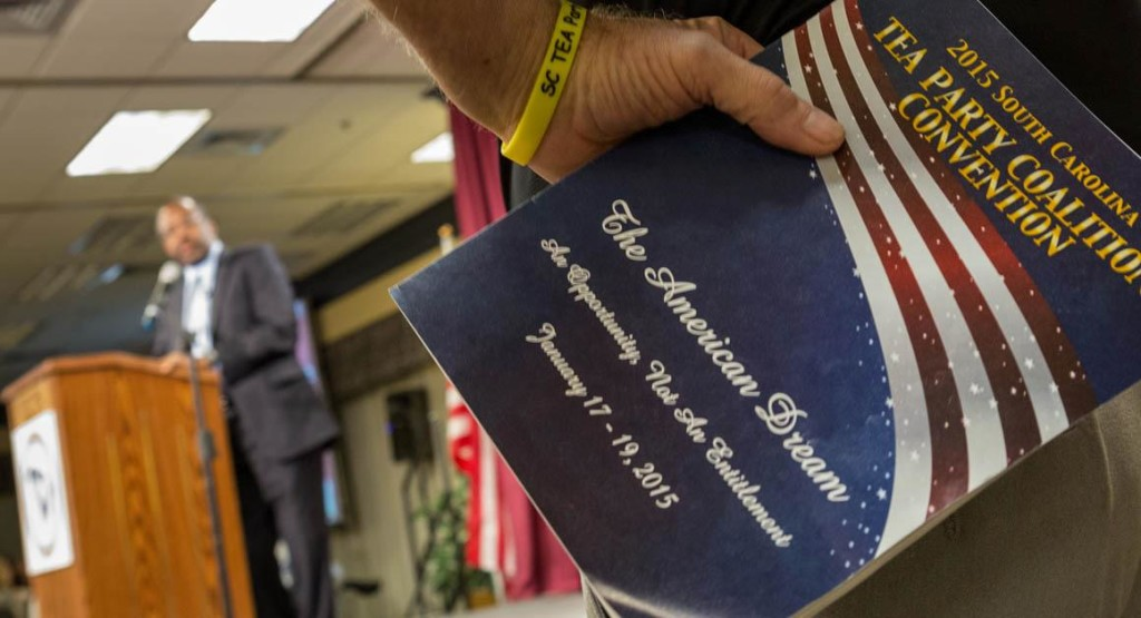 Presidential Hopefuls Address South Carolina Tea Party Convention